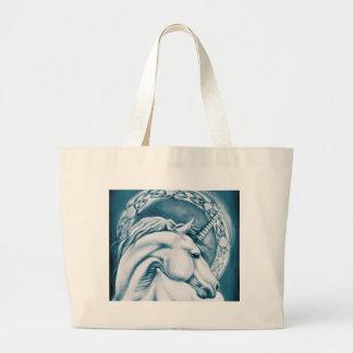Unicorn Art Large Tote Bag