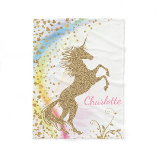 Unicorn Baby Blanket