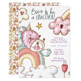 baby naming invitations zazzle