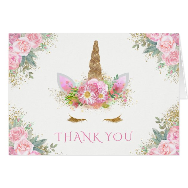 thank you cards for a baby shower