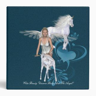 Unicorn Baby Unicorn And Angel Avery Binder