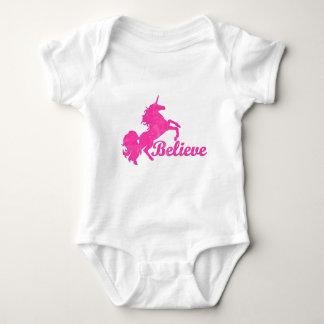Unicorn, Believe Baby Bodysuit