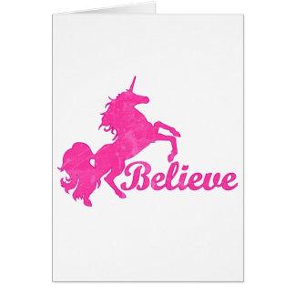 Unicorn, Believe Card