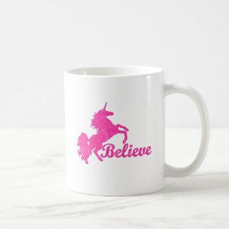 Unicorn, Believe Coffee Mug