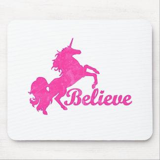 Unicorn, Believe Mouse Pad