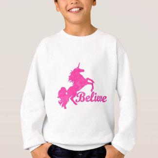 Unicorn, Believe Sweatshirt