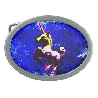 Unicorn Belt Buckle (Punk Cupcake)