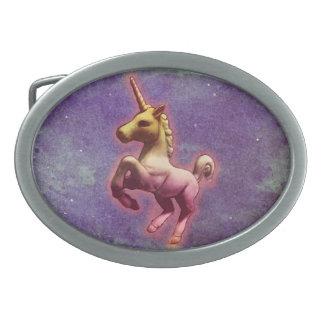 Unicorn Belt Buckle (Purple Mist)