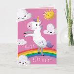 "Unicorn Birthday Card<br><div class=""desc"">Unicorn Birthday Card</div>"