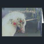 "Unicorn Birthday Card Magical Birthday<br><div class=""desc"">Unicorn Birthday Card Magical Birthday</div>"