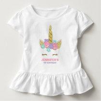 Unicorn Birthday T-shirt Unicorn face Magical