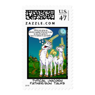 Unicorn Bonding Funny Gifts & Collectibles Postage