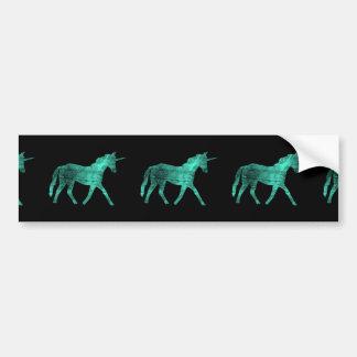 Unicorn Car Bumper Sticker