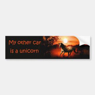 Unicorn Bumper Stickers