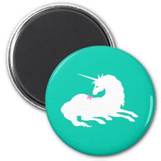 """Unicorn & Butterfly"" Jade Magnet"