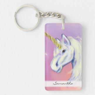 Unicorn by: Mendi Vernatter Keychain