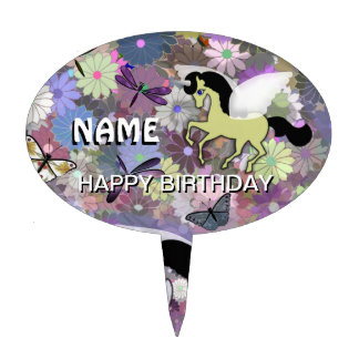 Unicorn Cake Decoration Keepsake Cake Topper