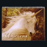 "Unicorn Calendar<br><div class=""desc"">Beautiful rich photographs of unicorns,  all seasons.</div>"