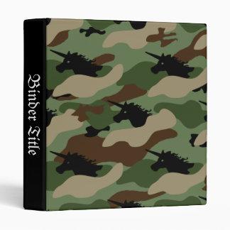 Unicorn Camouflage Binder
