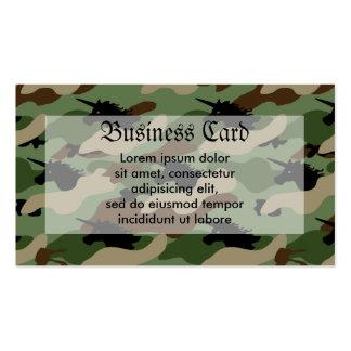 Unicorn Camouflage Business Card