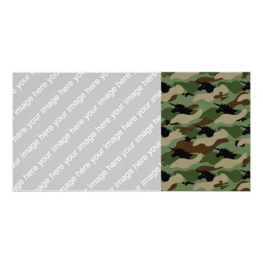 Unicorn Camouflage Card