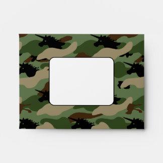 Unicorn Camouflage Envelope