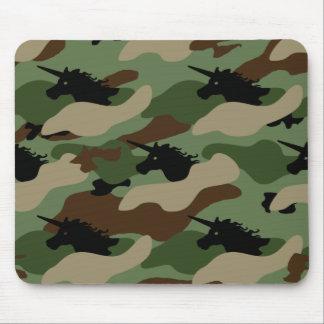 Unicorn Camouflage Mouse Pad