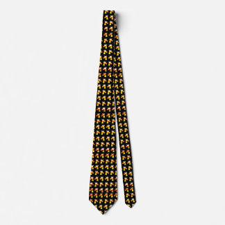 Unicorn Candy Corn Neck Tie