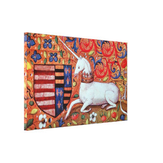 UNICORN STRETCHED CANVAS PRINTS