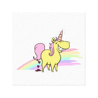 unicorn canvas print lienzo envuelto para galerias