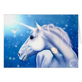 Unicorn (card) greeting card