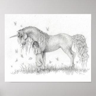 Unicorn Card Stock Print