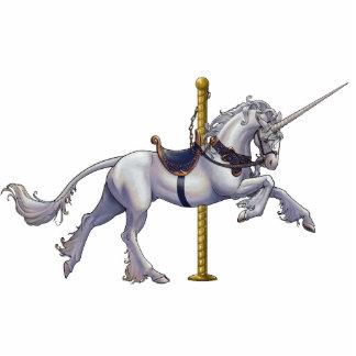 Unicorn Carousel Cutout/Pin Cutout