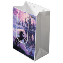 Unicorn Castle Medium Gift Bag