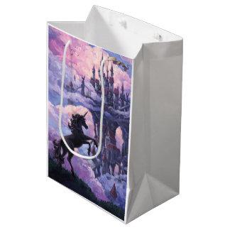 Unicorn Castle Medium Gift Bag