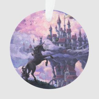 Unicorn Castle Ornament