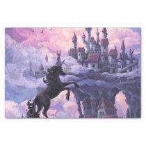 Unicorn Castle Tissue Paper