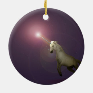 Unicorn Ceramic Ornament