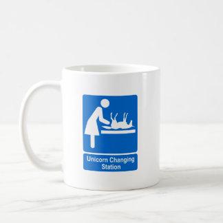 Unicorn Changing Station Coffee Mug