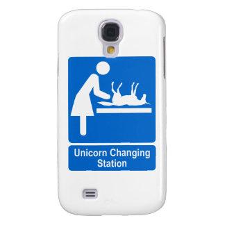 Unicorn Changing Station Samsung Galaxy S4 Case
