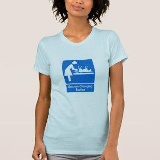 Unicorn Changing Station T-Shirt