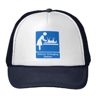 Unicorn Changing Station Trucker Hat