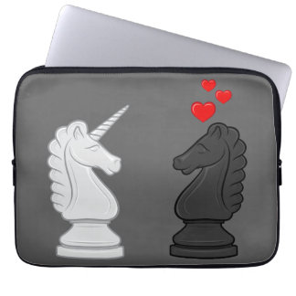 Unicorn Chess Knight Laptop Computer Sleeves