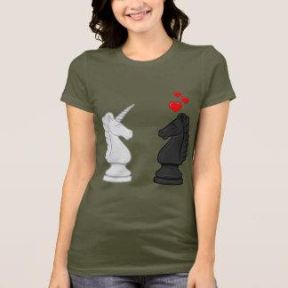 Unicorn Chess Knight T-Shirt
