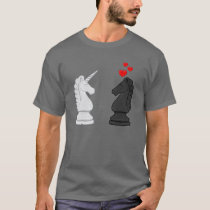 Unicorn Chess Knight T-Shirt