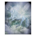 Unicorn Cloud Dancer Fine Art Poster/Print