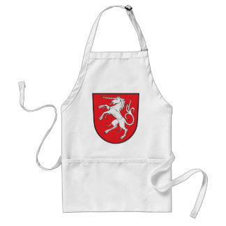 Unicorn Coat of Arms - Schwabisch Gmund Germany Adult Apron