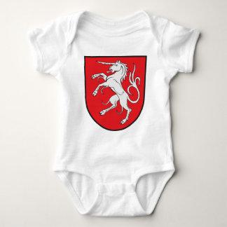 Unicorn Coat of Arms - Schwabisch Gmund Germany Baby Bodysuit