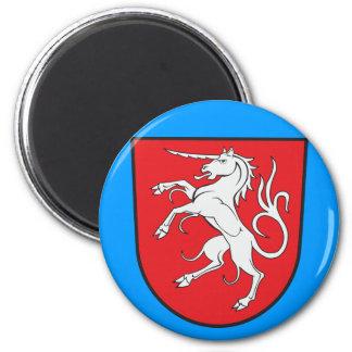 Unicorn Coat of Arms - Schwabisch Gmund Germany Magnet