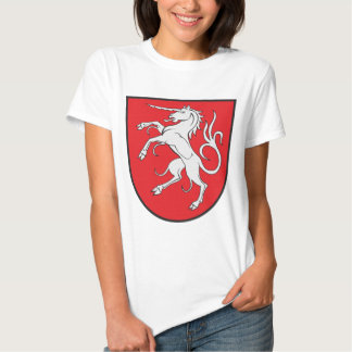 Unicorn Coat of Arms - Schwabisch Gmund Germany T-Shirt
